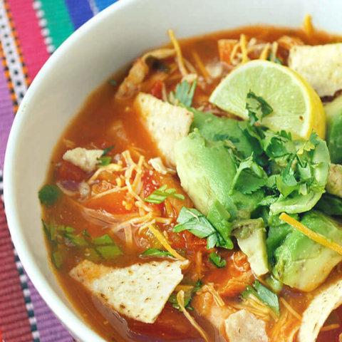 Chicken Tortilla Soup by FamilySpice.com
