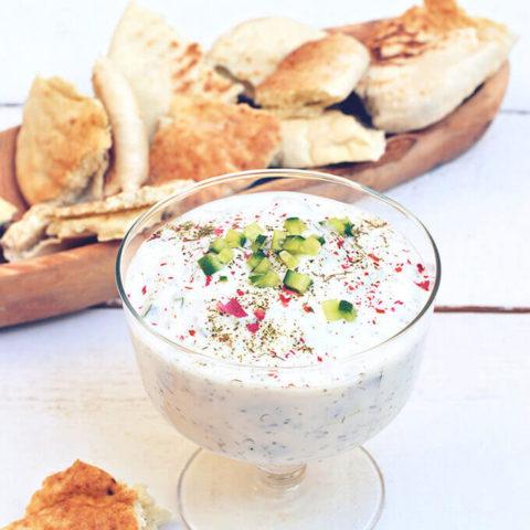 Persian Yogurt with Cucumber (Mast-o Khiar) by FamilySpice.com