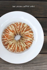 Sour Cream Coffee Cake by FamilySpice.com