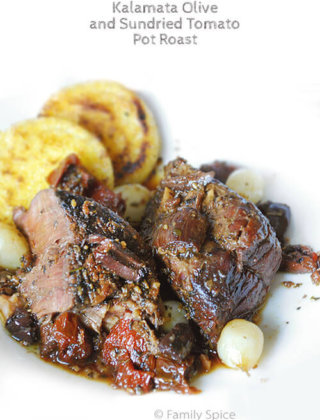 Kalamata Olive and Sundried Tomato Pot Roast