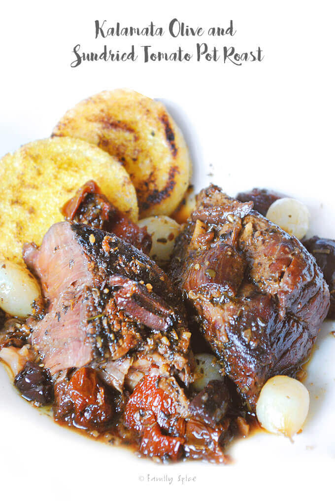 Kalamata Olive and Sundried Tomato Pot Roast by FamilySpice.com