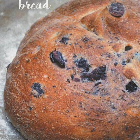Kalamata Olive Rosemary Bread