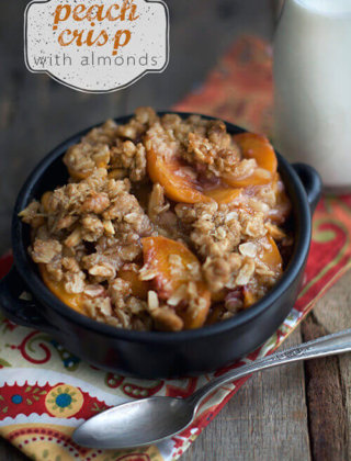 Peach Crumb Bars and More Peach Recipes!