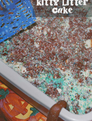 Kitty Litter Cake by FamilySpice.com