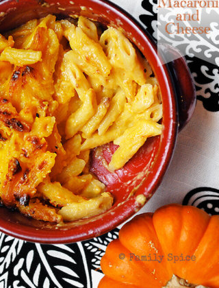 Pumpkin Mania: Pumpkin Macaroni and Cheese