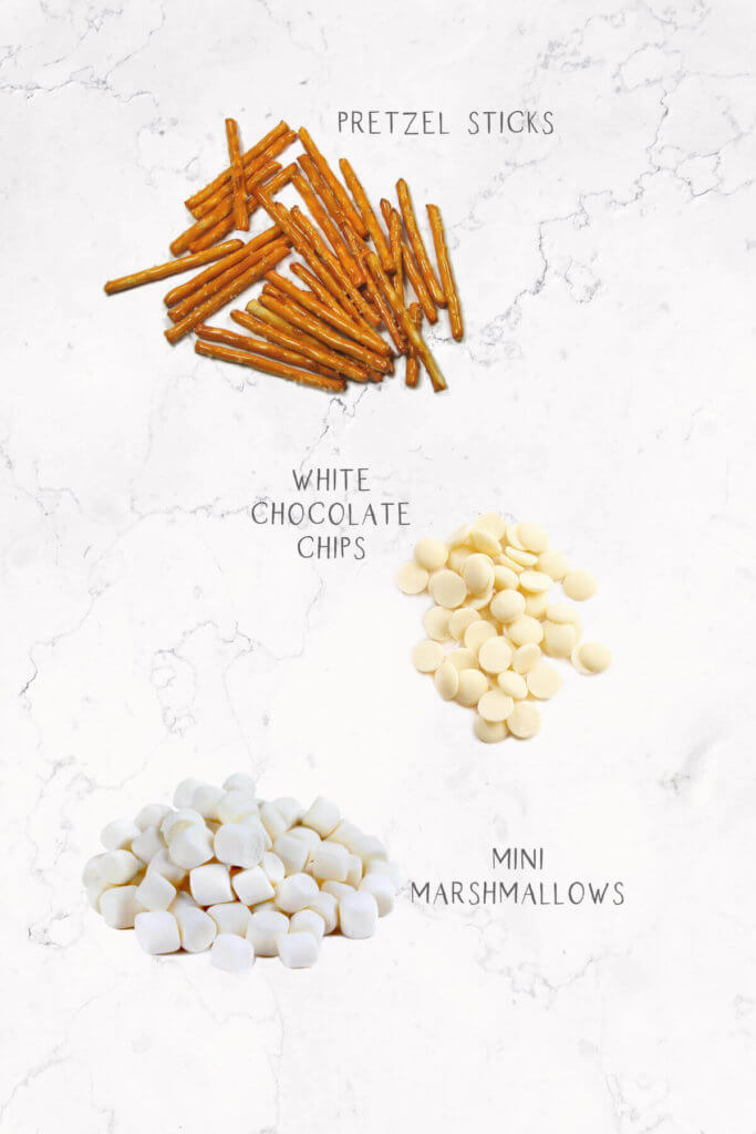 Labeled ingredients for edible skeleton bones