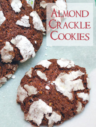 25 Days of Cookies: Almond Crackle Cookies