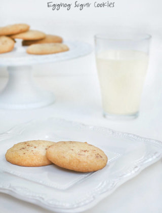 25 Days of Cookies: Eggnog Sugar Cookies