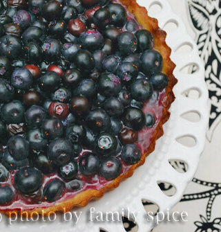 Wishing for Summer with a Blueberry Tart