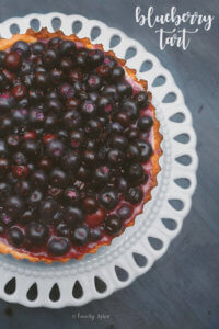 Got blueberries? A terrific way to showcase them is in this beautiful and simple blueberry tart. -- FamilySpice.com