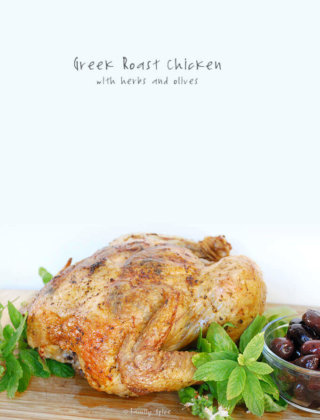 Add the flavors of the Mediterranean to your family's dinner table with this Greek Roast Chicken with herbs and olives. -- FamilySpice.com