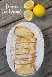 Lemon Tea Bread by FamilySpice.com