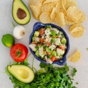pinterest image for mexican ceviche