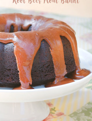 Root Beer Float Bundt by FamilySpice.com