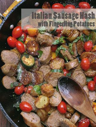 Italian Sausage Hash with Idaho Fingerling Potatoes