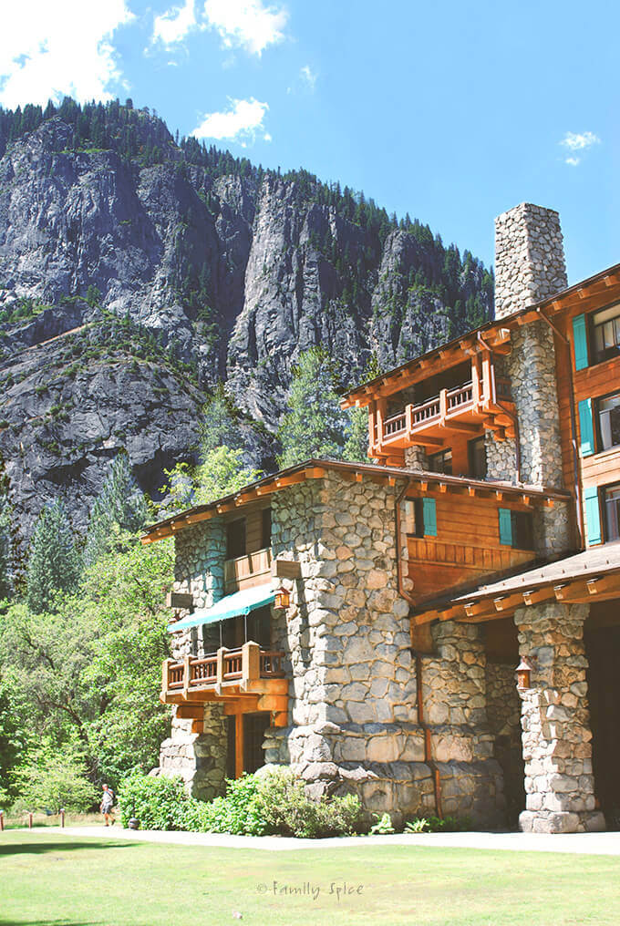 Ahwahnee Hotel in Yosemite Valley by FamilySpice.com