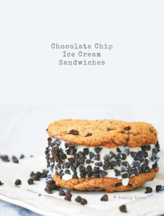 The Best Homemade Chocolate Chip Ice Cream Sandwiches