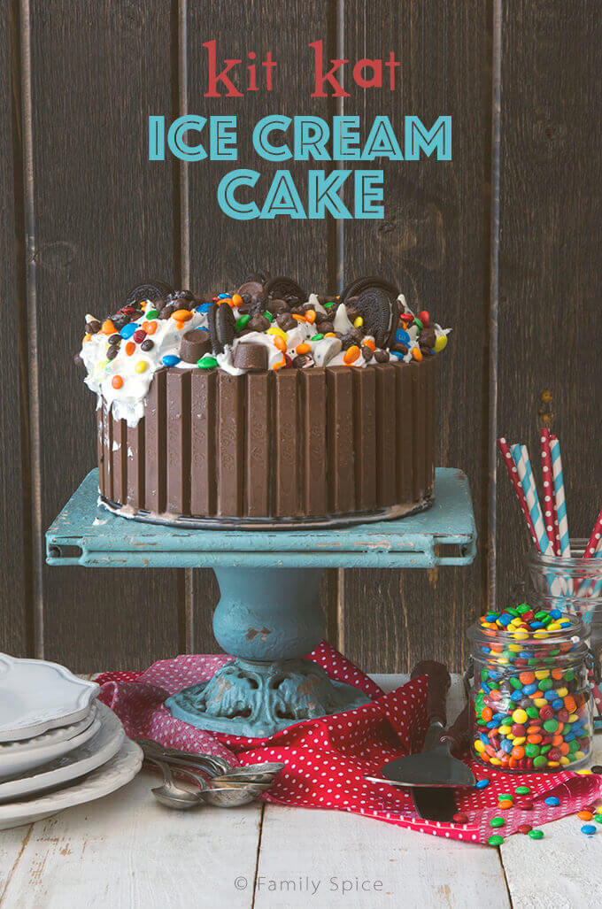 Candy Shop Kit Kat Ice Cream Cake By FamilySpice