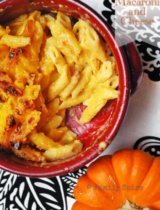Pumpkin Comfort Food: Pumpkin Macaroni and Cheese