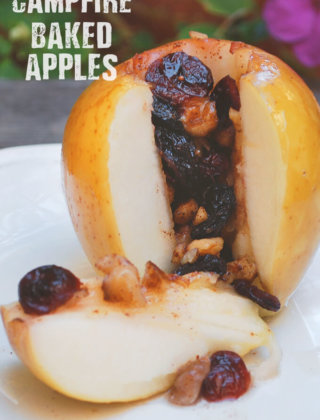 Campfire Baked Apples by FamilySpice.com