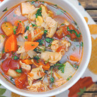 Healthy Manhattan Clam Chowder