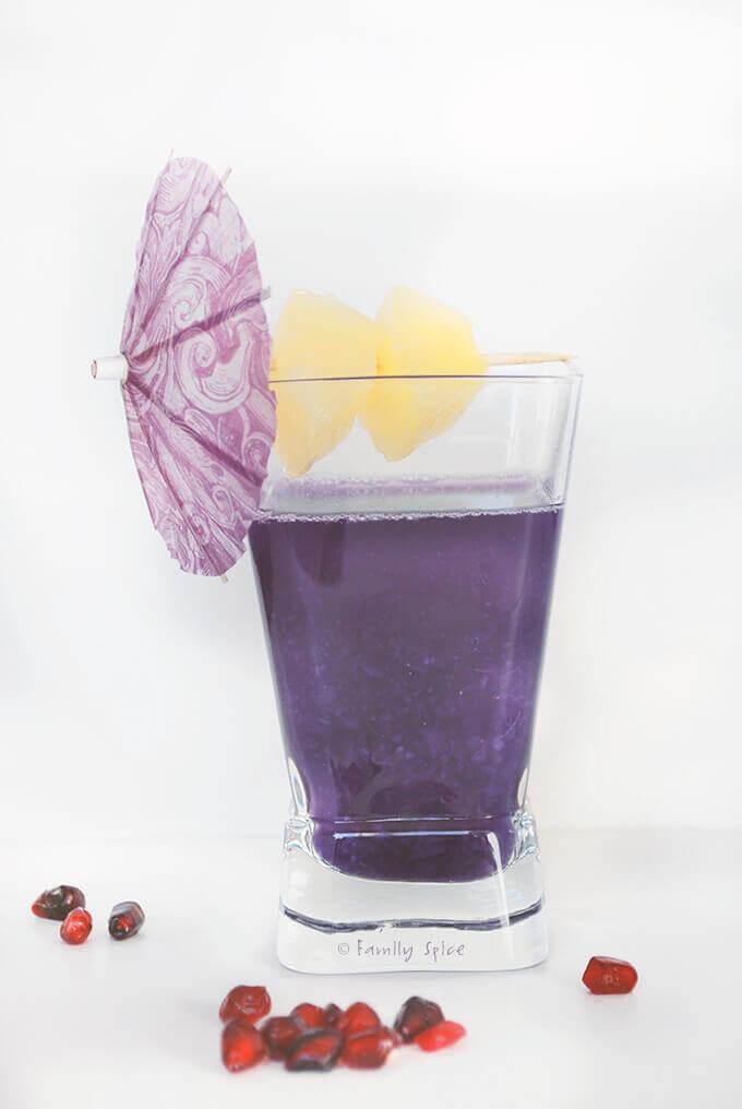 Spooktacular No-Dye All Natural Purplicious Potion by FamilySpice.com