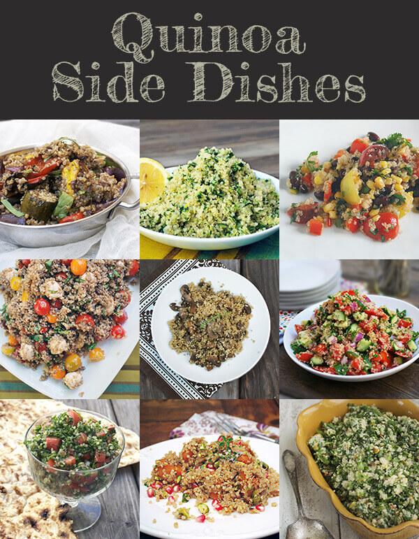 Fabulous Quinoa Side Dishes by FamilySpice.com