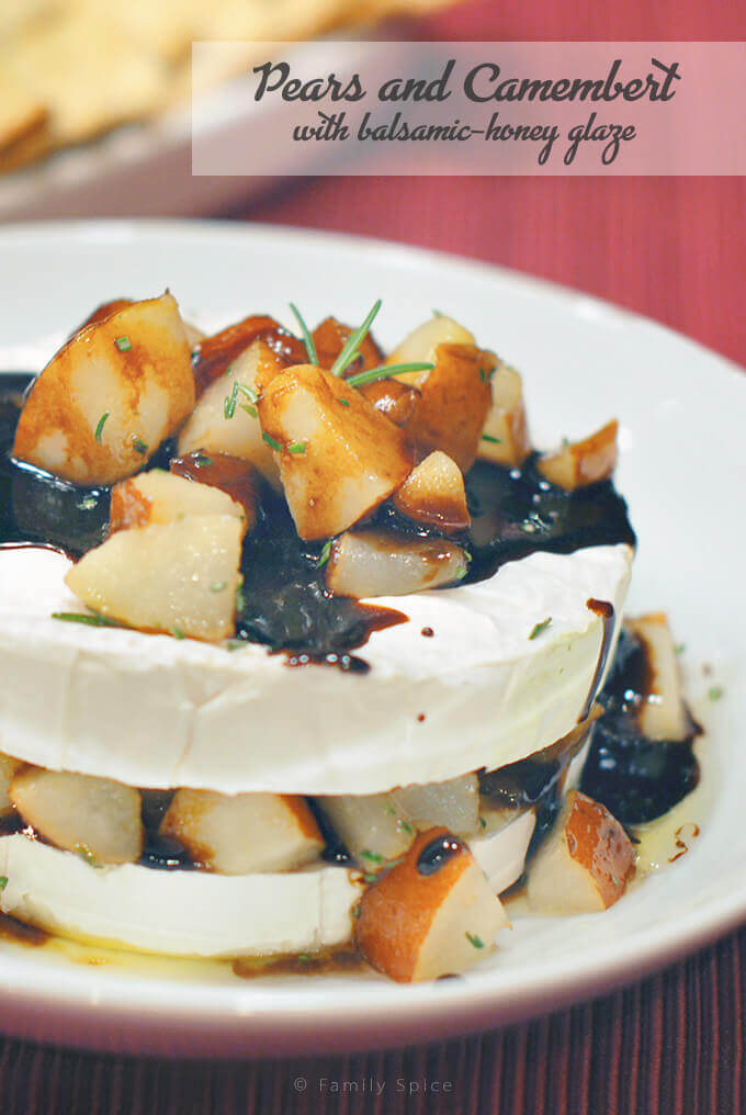 Resolutions with Pears and Camembert by FamilySpice.com