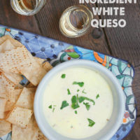 The Easiest 2 Ingredient White Queso