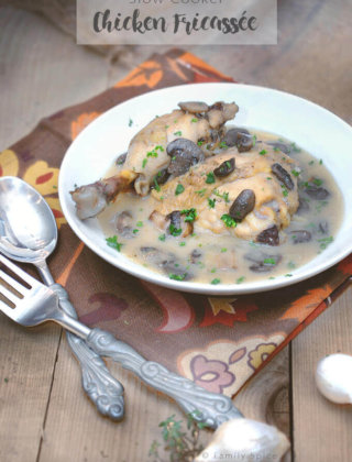 Slow Cooker Chicken Fricassée