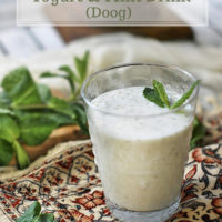 Doogh (Persian Yogurt Drink)