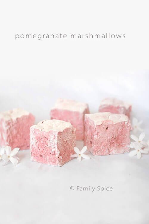 Pomegranate Marshmallows