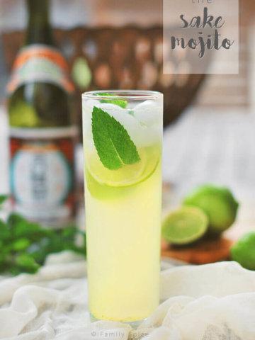 The Sake Mojito by FamilySpice.com