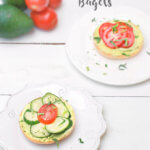 Avocado Field Trip: Avocado Cream Cheese Bagels by FamilySpice.com