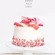 A White Rose Cake for Spring by FamilySpice.com