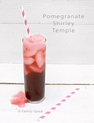 The Pomegranate Shirley Temple