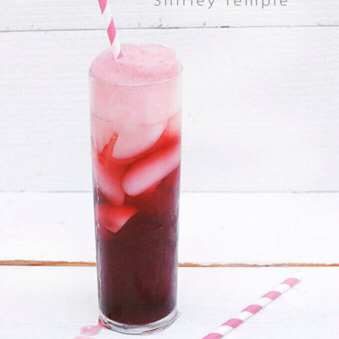 The Pomegranate Shirley Temple Drink