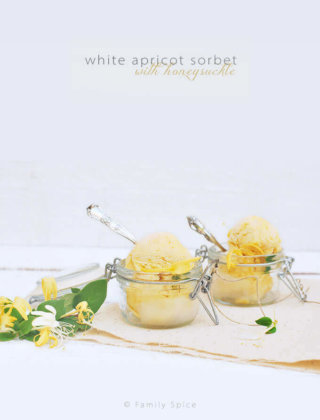 White Apricot Sorbet with Honeysuckle (Angelcot Sorbet)