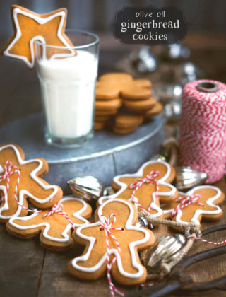 Olive Oil Gingerbread Cookies by FamilySpice.com