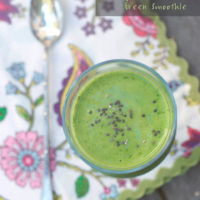 Mango Spinach Green Smoothie