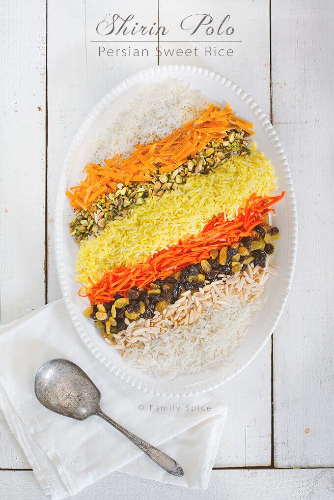 Shirin Polo (Persian Sweet Rice) by FamilySpice.com