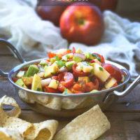 Apple and Avocado Salsa
