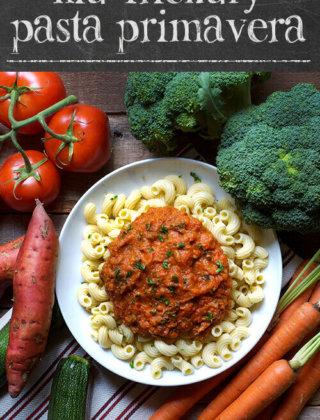 Kid Friendly Pasta Primavera by FamilySpice.com