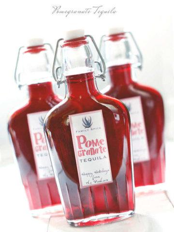 Pomegranate Tequila by FamilySpice.com