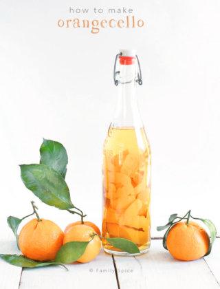How to Make Orangecello and Orange Infused Vodka