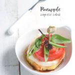 Pineapple Caprese Salad by FamilySpice.com