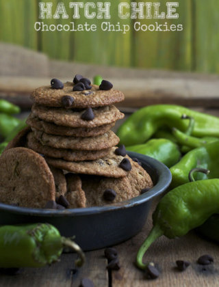 Feel the Heat: Hatch Chile Chocolate Chip Cookies