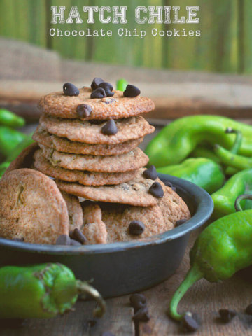 Hatch Chile Chocolate Chip Cookies by FamilySpice.com