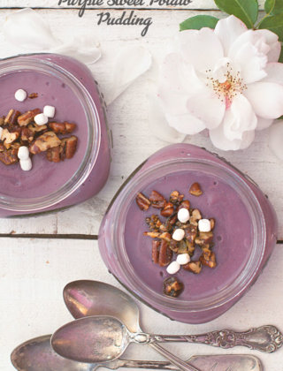 Purple Sweet Potato Pudding by FamilySpice.com