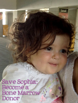 Save Sophia: Become a Bone Marrow Donor